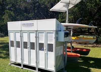 Kayak Vending Machine