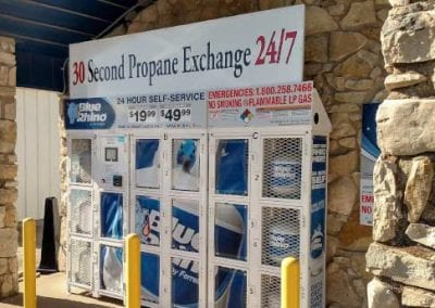 Propane Vending Unit
