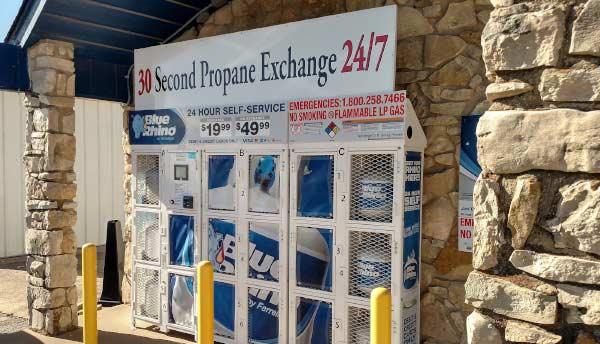 Propane Vending Unit